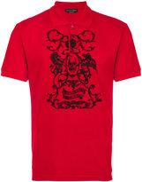 Alexander McQueen printed polo shirt - men - Cotton - S
