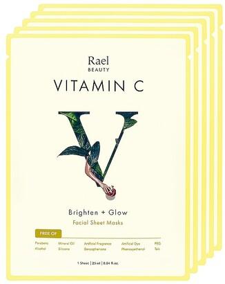 Rael Vitamin C Mask 5 Pack Set