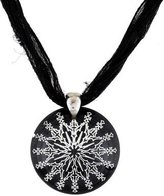 Baccarat Rockmantic Black Crystal Pendant Necklace