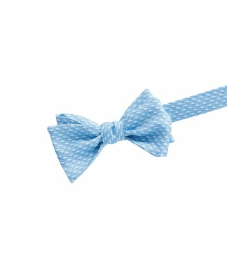 Vineyard Vines Mens Printed Bow Tie - Vineyard Whale Sea Splash One Size