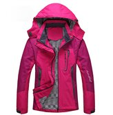 Diamond Candy Sportswear Women's Waterproof Jacket Outdoor raincoat Hooded Softshell 2HPS