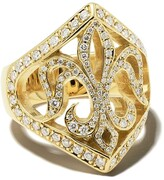 Thumbnail for your product : Loree Rodkin 14kt Gold Diamond Maltese Ring