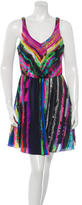 Amanda Uprichard Silk Sleeveless Dress