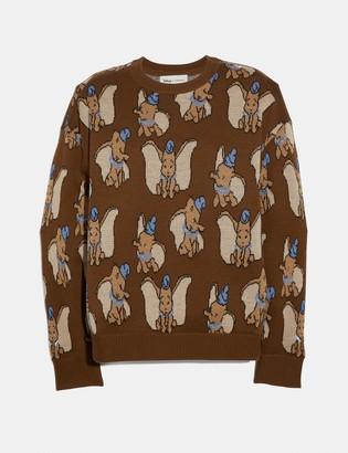 Coach Disney X Dumbo Jacquard Sweater