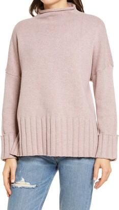 Madewell Glenmoor Mock Neck Sweater