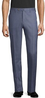 Pt01 Easy-Fit Wool-Blend Flat-Front Pants