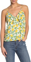 Lush Printed Front Knot Camisole
