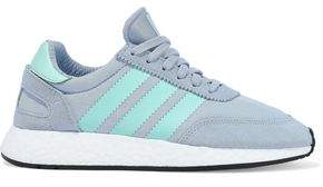 adidas I-5923 Leather And Suede-trimmed Neoprene Sneakers