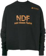 Raf Simons New Dawn Fades sweatshirt