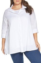 Plus Size Linen Tunic - ShopStyle