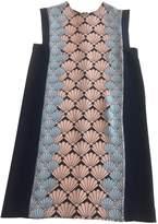 Markus Lupfer Blue Silk Dress for Women
