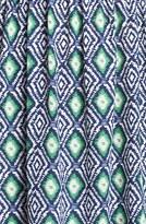 Soprano Cutout Back Print Dress (Juniors)