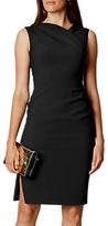 Karen Millen Fabric Detail Dress, Black