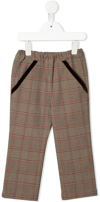 Familiar Checked Trousers