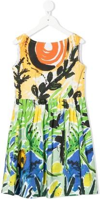 Marni All-Over Print Dress