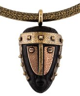 Valentino Tribal Mask Collar Necklace