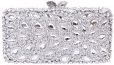 Santimon Women Clutch Luxury Glitter Rhinestone HandBags Evening Bags with Removable Strap