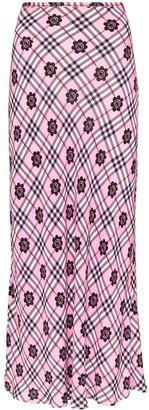 Rixo Kelly floral print maxi skirt