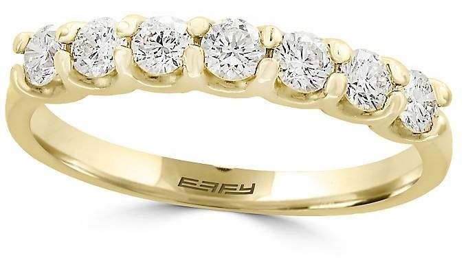 Effy Women's D'oro Diamond and 14K Yellow Gold Ring