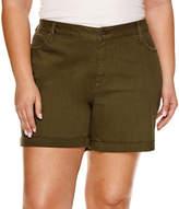 A.N.A 7 Denim Shorts-Plus