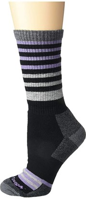 Darn Tough Vermont Gatewood Boot Full Cushion Socks (Black) Women's Crew Cut Socks Shoes