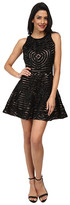 Kas Zoey Fit and Flare Cutwork Dress