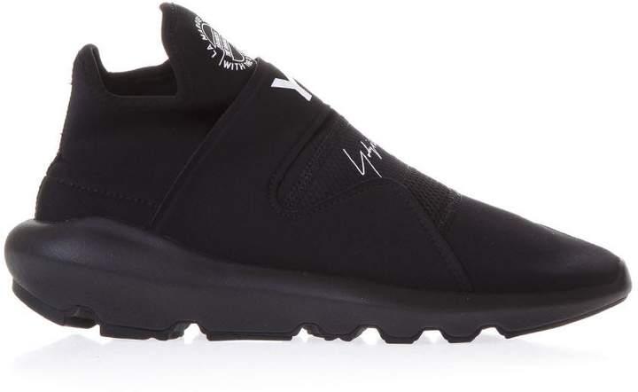 Y-3 Suberou Black Neoprene Sneakers