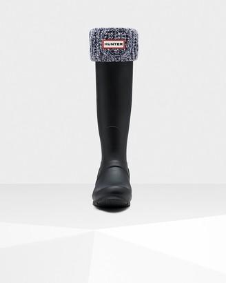 Hunter Cable Cuff Tall Boot Socks
