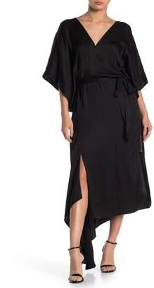 Young Fabulous & Broke YFB by Starla Wrap Midi Dress