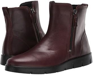 Ecco Bella Zip Boot (Mink Cow Leather) Women's Boots