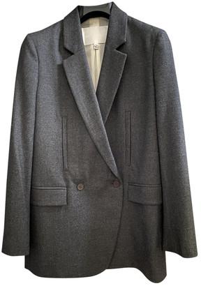 Nicole Farhi Grey Wool Jackets
