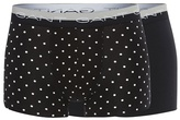 Gant Two Pack Of Black Dotted Print Trunks