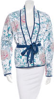 Isabel Marant Quilted Printed Jacket