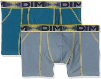 Dim Men's 3D Flex Air Power Deporte Transpirable Boxer Shorts,(Size: 2) (Pack of 2)