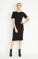 Nicole Miller Riley Ribbed Knit Dress