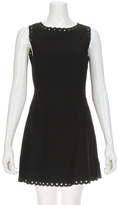 Suncoo Celine Scalloped Grommet Dress