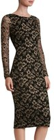 Dress the Population Emery Lace Body-Con Midi Dress