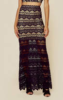 Nightcap Clothing sierra lace maxi skirt