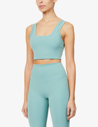 Varley Delta stretch-jersey sports bra