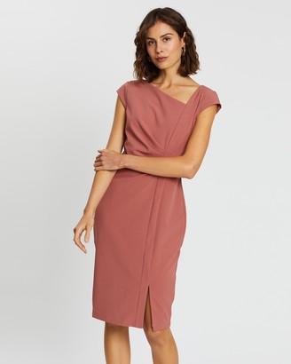 Forcast Kenzie Asymmetric Dress