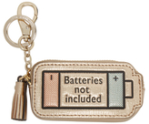 Anya Hindmarch Batteries Not Included Metallic Leather Coin Purse