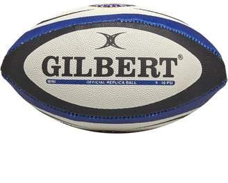Gilbert Rugby Bath Replica Mini Rugby Ball Blue/White/Red