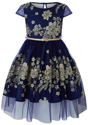 Monsoon Amarylis Glitter Dress