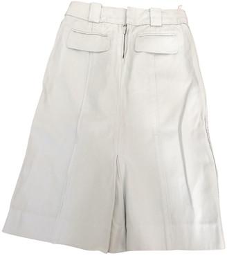 Louis Vuitton Blue Cotton Skirts