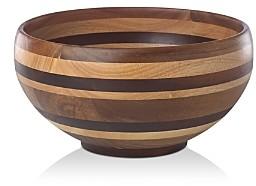 Dansk Signy Striped Wood 12 Bowl