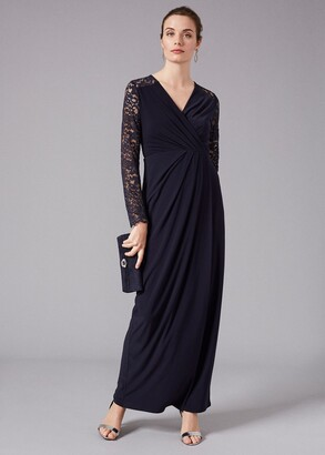 Phase Eight Elanor Lace Maxi Dress