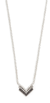 Ef Collection Diamond Fade Shield Necklace