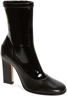 Wandler Lesley Mixed Texture Leather Boot