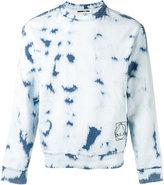McQ by Alexander McQueen bleached jumper - men - Cotton/Polyester/Spandex/Elastane - S