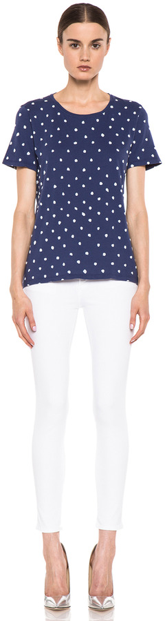 Naco Paris EACH x OTHER By Printed Dotted Tee in Blue